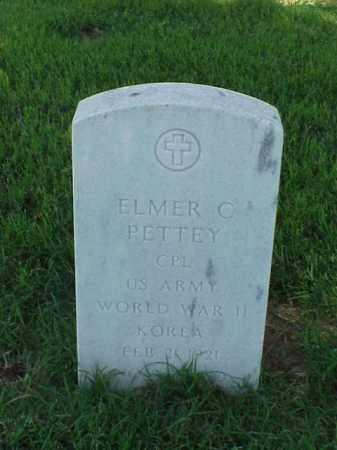PETTEY (VETERAN 2 WARS), ELMER C - Pulaski County, Arkansas | ELMER C PETTEY (VETERAN 2 WARS) - Arkansas Gravestone Photos
