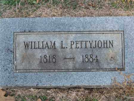 PETTYJOHN, WILLIAM L - Pulaski County, Arkansas | WILLIAM L PETTYJOHN - Arkansas Gravestone Photos