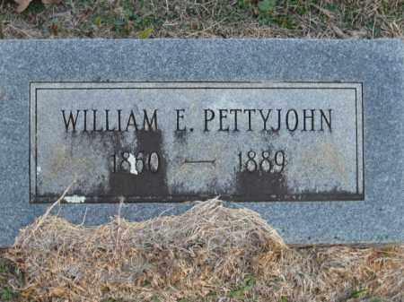 PETTYJOHN, WILLIAM E - Pulaski County, Arkansas   WILLIAM E PETTYJOHN - Arkansas Gravestone Photos