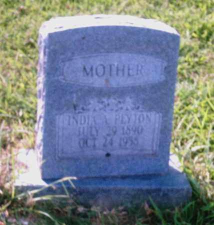 PEYTON, INDIA A. - Pulaski County, Arkansas | INDIA A. PEYTON - Arkansas Gravestone Photos
