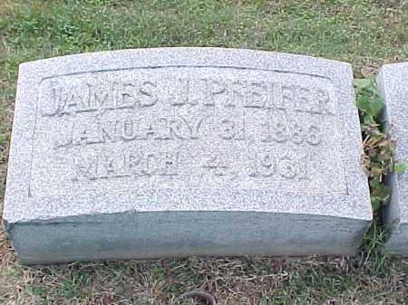 PFEIFER, JAMES J - Pulaski County, Arkansas | JAMES J PFEIFER - Arkansas Gravestone Photos