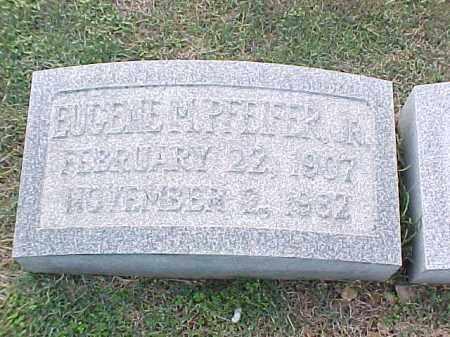 PFEIFER, JR, WUGENE - Pulaski County, Arkansas | WUGENE PFEIFER, JR - Arkansas Gravestone Photos