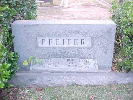 PFEIFER, RUBY - Pulaski County, Arkansas | RUBY PFEIFER - Arkansas Gravestone Photos
