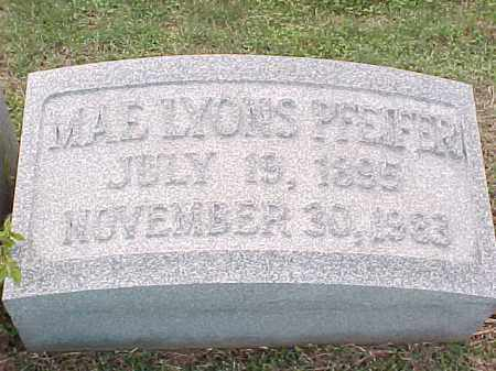 PFEIFER, MAE - Pulaski County, Arkansas | MAE PFEIFER - Arkansas Gravestone Photos