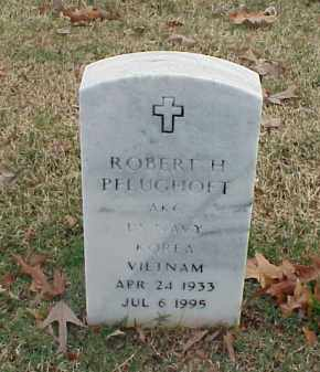 PFLUGHOFT (VETERAN 2 WARS), ROBERT H - Pulaski County, Arkansas | ROBERT H PFLUGHOFT (VETERAN 2 WARS) - Arkansas Gravestone Photos