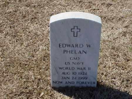 PHELAN (VETERAN WWII), EDWARD W - Pulaski County, Arkansas | EDWARD W PHELAN (VETERAN WWII) - Arkansas Gravestone Photos