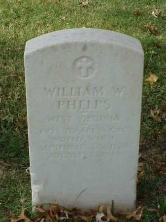 PHELPS (VETERAN WWI), WILLIAM W - Pulaski County, Arkansas | WILLIAM W PHELPS (VETERAN WWI) - Arkansas Gravestone Photos