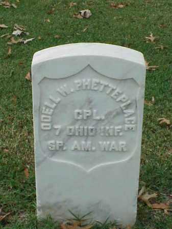 PHETTERPLACE (VETERAN SAW), ODELL W - Pulaski County, Arkansas   ODELL W PHETTERPLACE (VETERAN SAW) - Arkansas Gravestone Photos