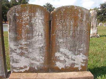 PHILLIPS, SARAH M - Pulaski County, Arkansas | SARAH M PHILLIPS - Arkansas Gravestone Photos