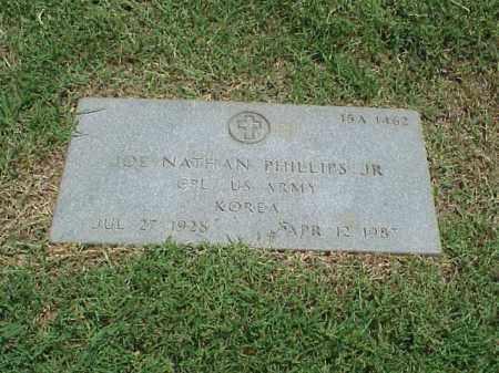 PHILLIPS, JR (VETERAN KOR), JOE NATHAN - Pulaski County, Arkansas | JOE NATHAN PHILLIPS, JR (VETERAN KOR) - Arkansas Gravestone Photos