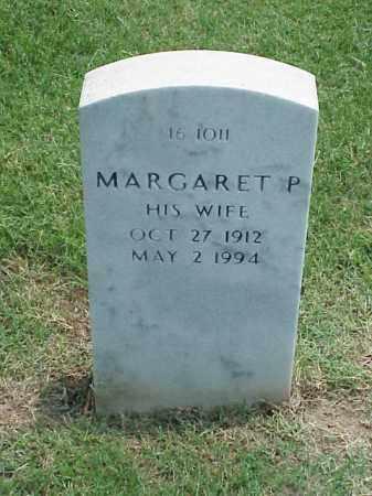 PHILLIPS, MARGARET P - Pulaski County, Arkansas | MARGARET P PHILLIPS - Arkansas Gravestone Photos