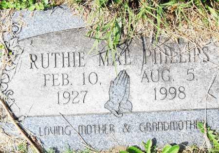 PHILLIPS, RUTHIE MAE - Pulaski County, Arkansas | RUTHIE MAE PHILLIPS - Arkansas Gravestone Photos