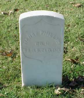 PHILLIPS (VETERAN UNION), HENRY - Pulaski County, Arkansas   HENRY PHILLIPS (VETERAN UNION) - Arkansas Gravestone Photos