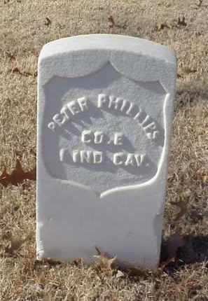 PHILLIPS (VETERAN UNION), PETER - Pulaski County, Arkansas | PETER PHILLIPS (VETERAN UNION) - Arkansas Gravestone Photos