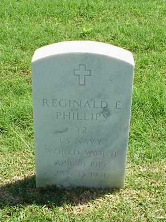 PHILLIPS (VETERAN WWII), REGINALD E - Pulaski County, Arkansas | REGINALD E PHILLIPS (VETERAN WWII) - Arkansas Gravestone Photos