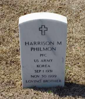 PHILMON (VETERAN KOR), HARRISON M - Pulaski County, Arkansas   HARRISON M PHILMON (VETERAN KOR) - Arkansas Gravestone Photos