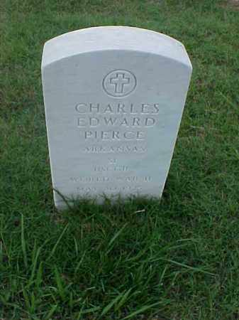PIERCE (VETERAN WWII), CHARLES EDWARD - Pulaski County, Arkansas | CHARLES EDWARD PIERCE (VETERAN WWII) - Arkansas Gravestone Photos