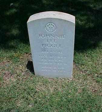 PIGGEE (VETERAN WWII), JOHNNIE LEE - Pulaski County, Arkansas   JOHNNIE LEE PIGGEE (VETERAN WWII) - Arkansas Gravestone Photos