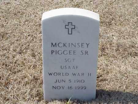 PIGGEE, SR (VETERAN WWII), MCKINSEY - Pulaski County, Arkansas | MCKINSEY PIGGEE, SR (VETERAN WWII) - Arkansas Gravestone Photos