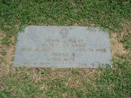 PILAT (VETERAN 2 WARS), JOHN L - Pulaski County, Arkansas   JOHN L PILAT (VETERAN 2 WARS) - Arkansas Gravestone Photos