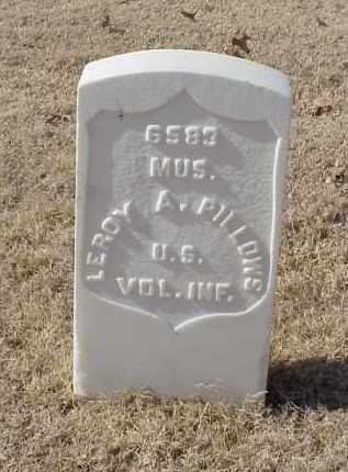 PILLOWS (VETERAN SAW), LEROY A - Pulaski County, Arkansas | LEROY A PILLOWS (VETERAN SAW) - Arkansas Gravestone Photos