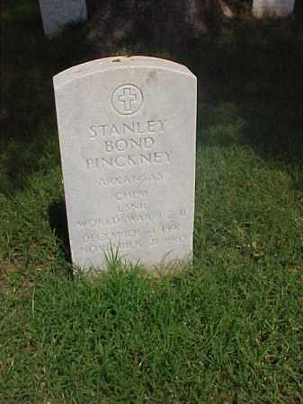 PINCKNEY (VETERAN 2 WARS), STANLEY BOND - Pulaski County, Arkansas   STANLEY BOND PINCKNEY (VETERAN 2 WARS) - Arkansas Gravestone Photos