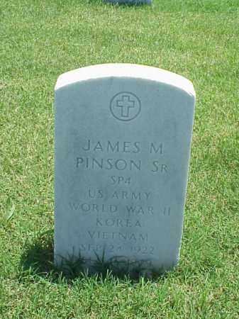 PINSON, SR (VETERAN 3 WARS), JAMES M - Pulaski County, Arkansas | JAMES M PINSON, SR (VETERAN 3 WARS) - Arkansas Gravestone Photos