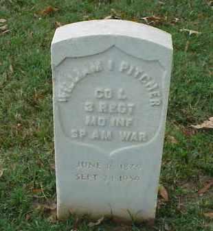 PITCHER (VETERAN SAW), WILLIAM I - Pulaski County, Arkansas   WILLIAM I PITCHER (VETERAN SAW) - Arkansas Gravestone Photos