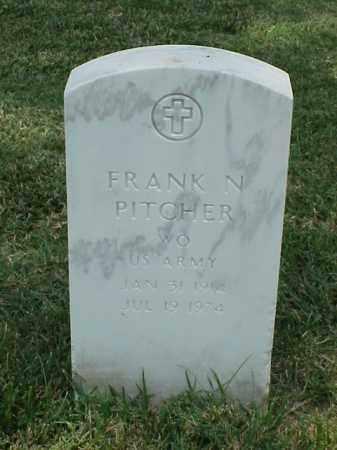 PITCHER (VETERAN WWII), FRANK NOLAN - Pulaski County, Arkansas | FRANK NOLAN PITCHER (VETERAN WWII) - Arkansas Gravestone Photos