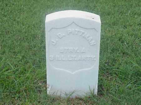 PITTMAN (VETERAN UNION), J G - Pulaski County, Arkansas   J G PITTMAN (VETERAN UNION) - Arkansas Gravestone Photos