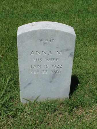 PITTS, ANNA M - Pulaski County, Arkansas   ANNA M PITTS - Arkansas Gravestone Photos