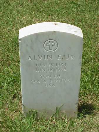 PITTS, JR, ALVIN E - Pulaski County, Arkansas | ALVIN E PITTS, JR - Arkansas Gravestone Photos