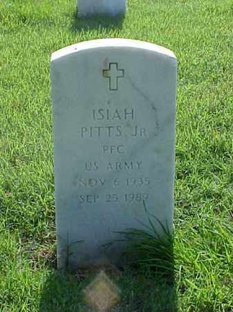 PITTS, JR (VETERAN), ISIAH - Pulaski County, Arkansas   ISIAH PITTS, JR (VETERAN) - Arkansas Gravestone Photos