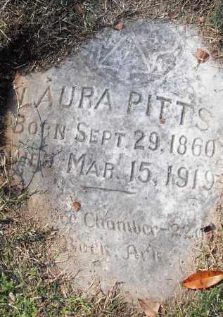 PITTS, LAURA - Pulaski County, Arkansas | LAURA PITTS - Arkansas Gravestone Photos
