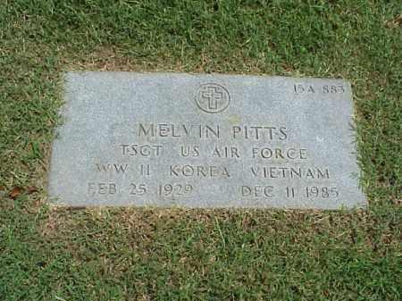 PITTS (VETERAN 3 WARS), MELVIN - Pulaski County, Arkansas | MELVIN PITTS (VETERAN 3 WARS) - Arkansas Gravestone Photos