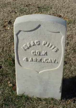PITTS (VETERAN UNION), ISAAC - Pulaski County, Arkansas   ISAAC PITTS (VETERAN UNION) - Arkansas Gravestone Photos