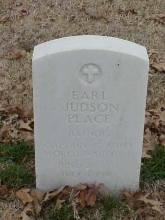 PLACE (VETERAN 2 WARS), EARL JUDSON - Pulaski County, Arkansas | EARL JUDSON PLACE (VETERAN 2 WARS) - Arkansas Gravestone Photos
