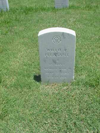 PLEASANT (VETERAN WWII), WILLIE R - Pulaski County, Arkansas | WILLIE R PLEASANT (VETERAN WWII) - Arkansas Gravestone Photos