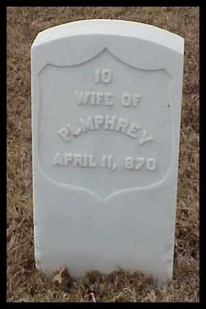 PUMPHREY, WIFE - Pulaski County, Arkansas   WIFE PUMPHREY - Arkansas Gravestone Photos