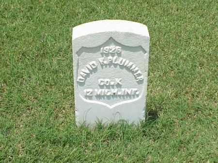 PLUMMER (VETERAN UNION), DAVID F - Pulaski County, Arkansas | DAVID F PLUMMER (VETERAN UNION) - Arkansas Gravestone Photos