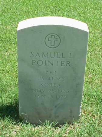 POINTER (VETERAN KOR), SAMUEL L - Pulaski County, Arkansas | SAMUEL L POINTER (VETERAN KOR) - Arkansas Gravestone Photos