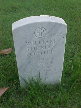 POINTER (VETERAN WWII), WILLIAM THOMAS - Pulaski County, Arkansas | WILLIAM THOMAS POINTER (VETERAN WWII) - Arkansas Gravestone Photos