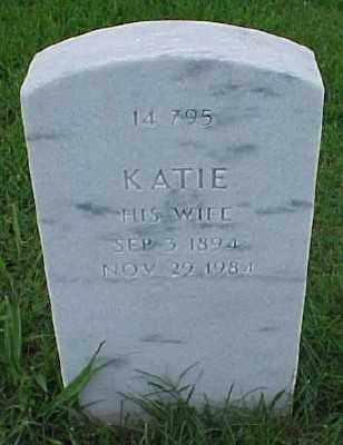 POLK, KATIE - Pulaski County, Arkansas | KATIE POLK - Arkansas Gravestone Photos