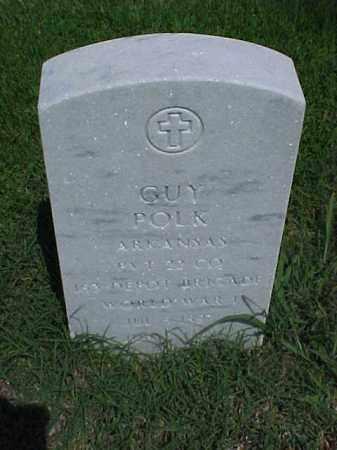 POLK (VETERAN WWI), GUY - Pulaski County, Arkansas   GUY POLK (VETERAN WWI) - Arkansas Gravestone Photos