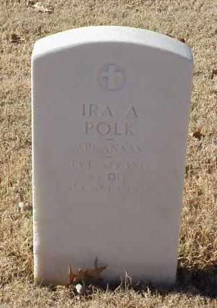 POLK (VETERAN WWI), IRA A - Pulaski County, Arkansas | IRA A POLK (VETERAN WWI) - Arkansas Gravestone Photos