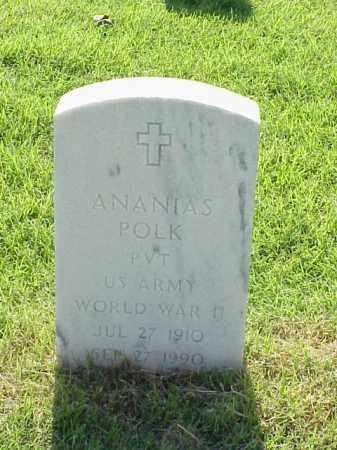 POLK (VETERAN WWII), ANANIAS - Pulaski County, Arkansas | ANANIAS POLK (VETERAN WWII) - Arkansas Gravestone Photos