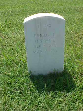 PONTIUS, FREIDA U. - Pulaski County, Arkansas | FREIDA U. PONTIUS - Arkansas Gravestone Photos