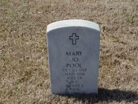 POOL, MARY JO - Pulaski County, Arkansas | MARY JO POOL - Arkansas Gravestone Photos