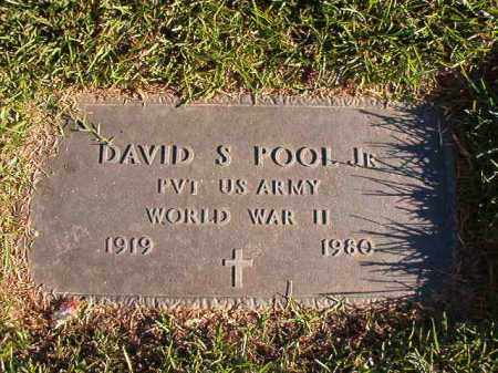 POOL, JR (VETERAN WWII), DAVID S - Pulaski County, Arkansas | DAVID S POOL, JR (VETERAN WWII) - Arkansas Gravestone Photos
