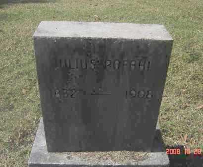 POPAHL, JULIUS - Pulaski County, Arkansas | JULIUS POPAHL - Arkansas Gravestone Photos